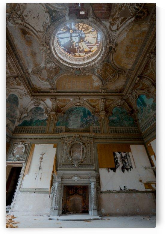 Abandoned Chateau FairyTale Dance Hall by Steve Ronin