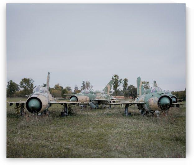 Abandoned Fighter Jet Graveyard by Steve Ronin