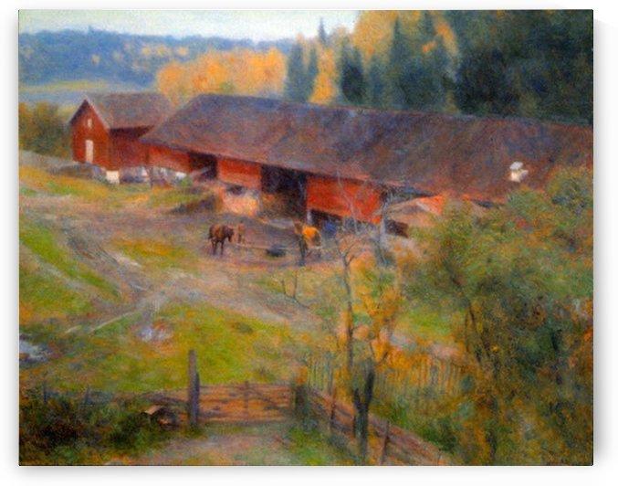 Autumn by Werenskjold by Werenskjold
