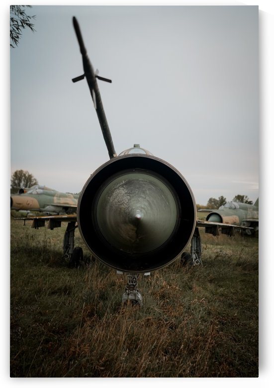 Abandoned Fighter Jet Up Close by Steve Ronin