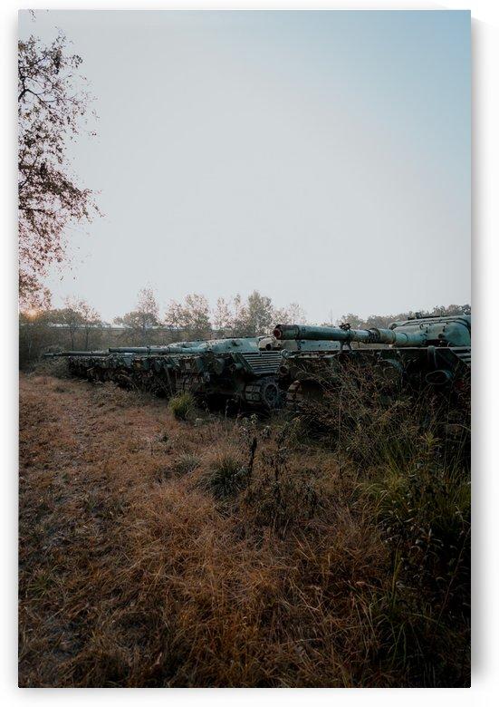 Abandoned Tank Graveyard by Steve Ronin