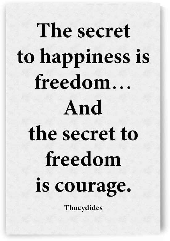 Secret to Freedom by Scripture on the Walls