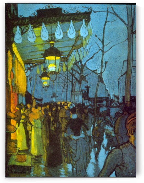 Avenue De Clichy by Anquetin by Anquetin
