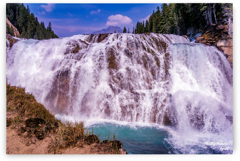 Wapta Falls Head On by The Big Picture by JD