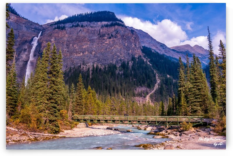 Takakkaw Falls Bridge by The Big Picture by JD