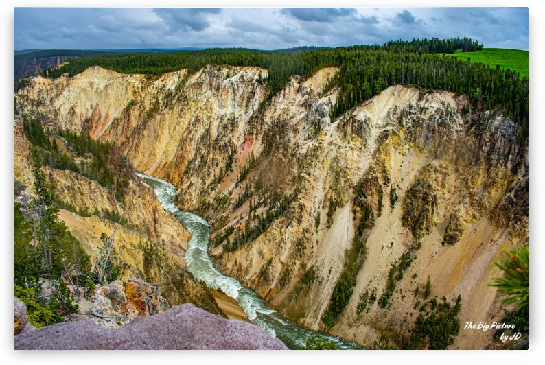 Yellowstone Artist Path by The Big Picture by JD