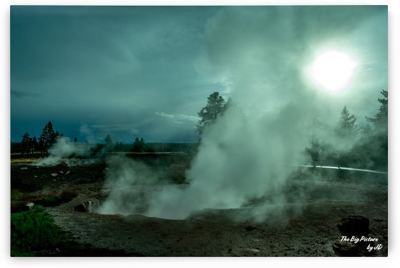 Yellowstone Crackling by The Big Picture by JD