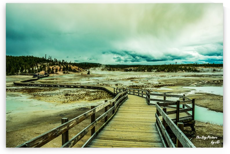 Yellowstone Boardwalk by The Big Picture by JD