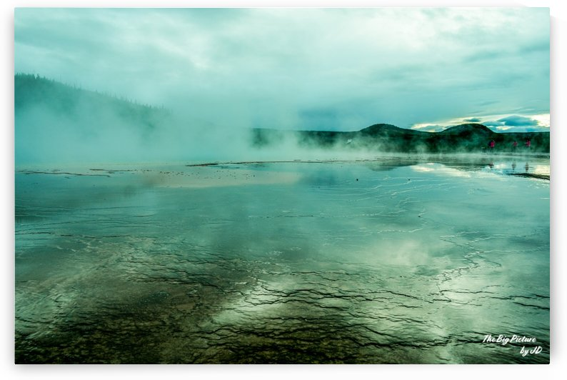 Yellowstone Blue by The Big Picture by JD