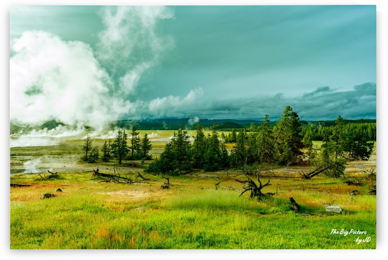 Yellowstone Distant Eruptions by The Big Picture by JD