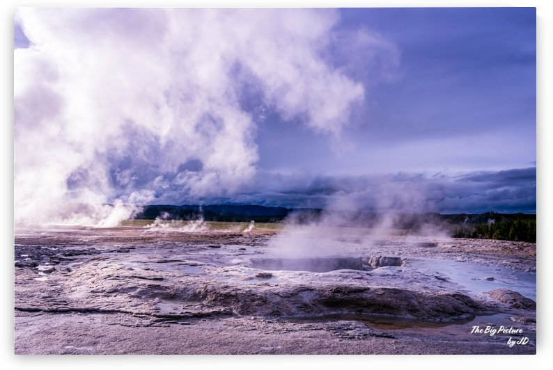 Yellowstone Norris Geyser Basin Walk by The Big Picture by JD