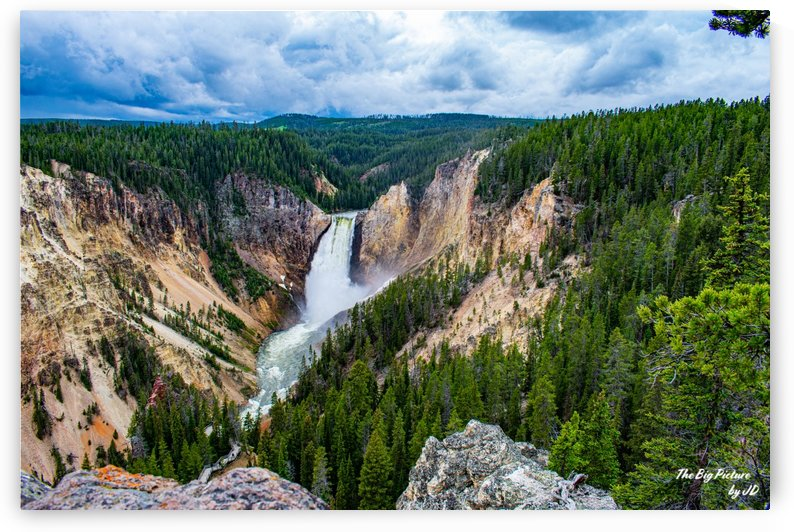 Yellowstone Lookout by The Big Picture by JD