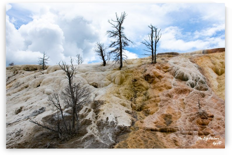 Yellowstone Mammoth Springs by The Big Picture by JD