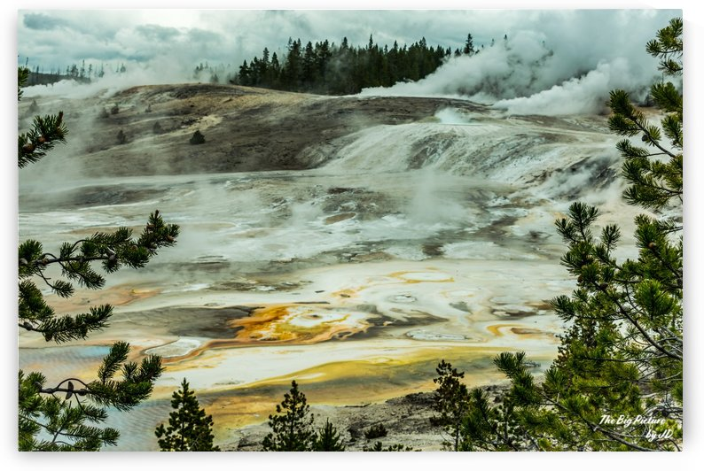 Yellowstone Porcelain by The Big Picture by JD