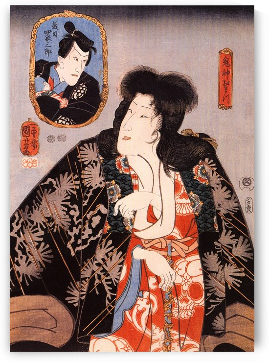 The female demond by Utagawa Kuniyoshi