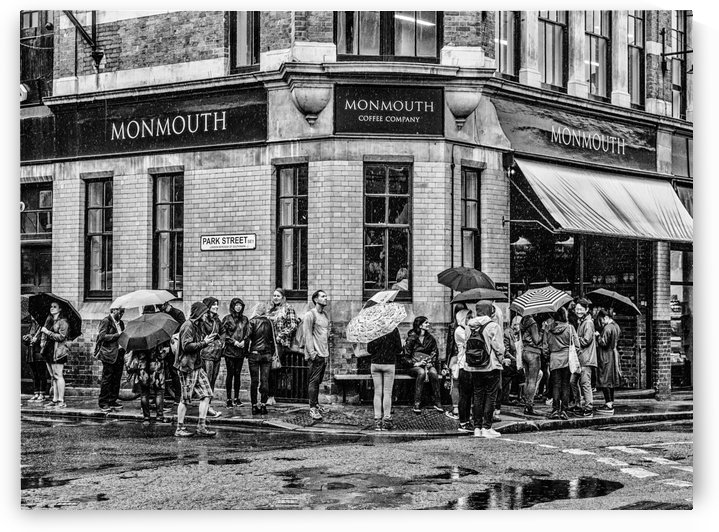 Monmouth Coffee Company by Darryl Brooks