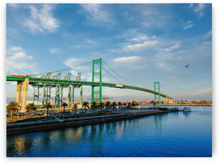 The Vincent Thomas Bridge by Darryl Brooks