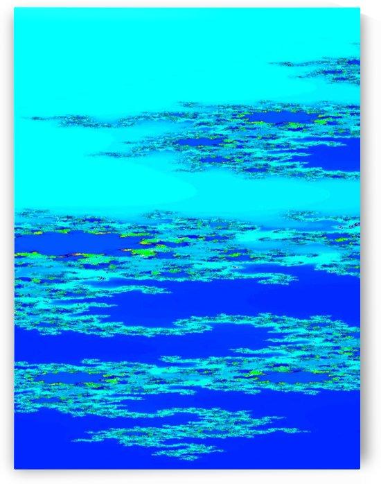 Blue Ocean 1 by Sherrie Larch