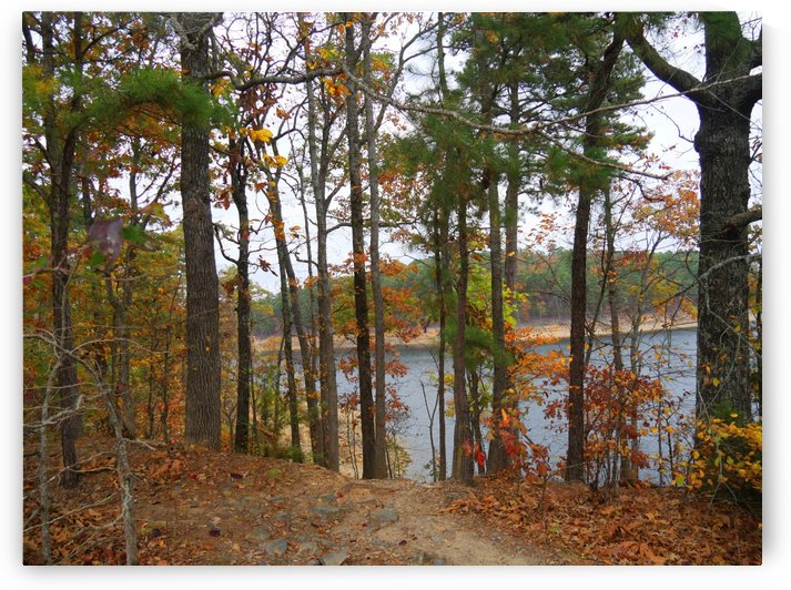Autumn by the Lake  by On da Raks