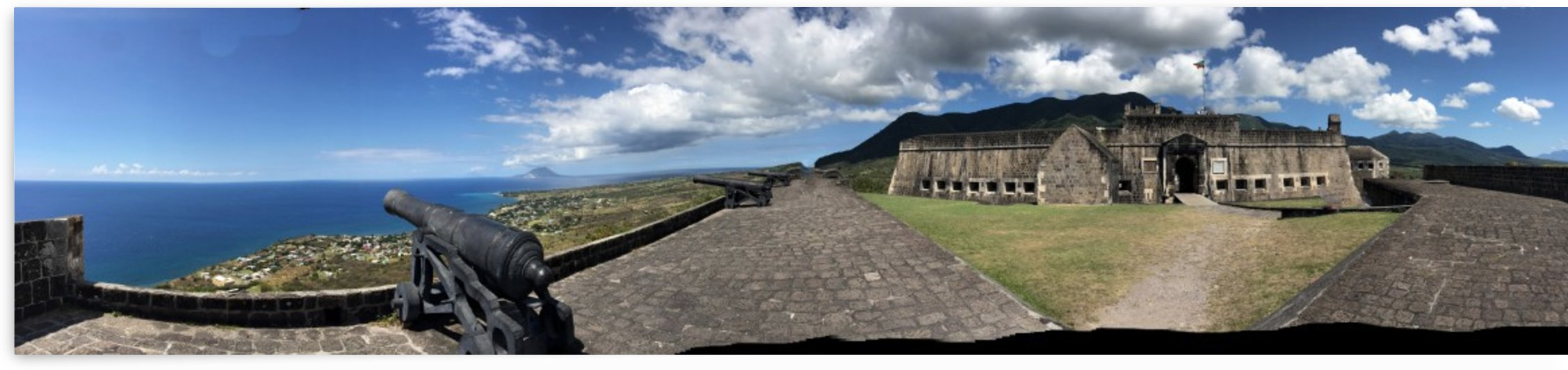 Brimstone Hill Fortress St. Kitts   by On da Raks