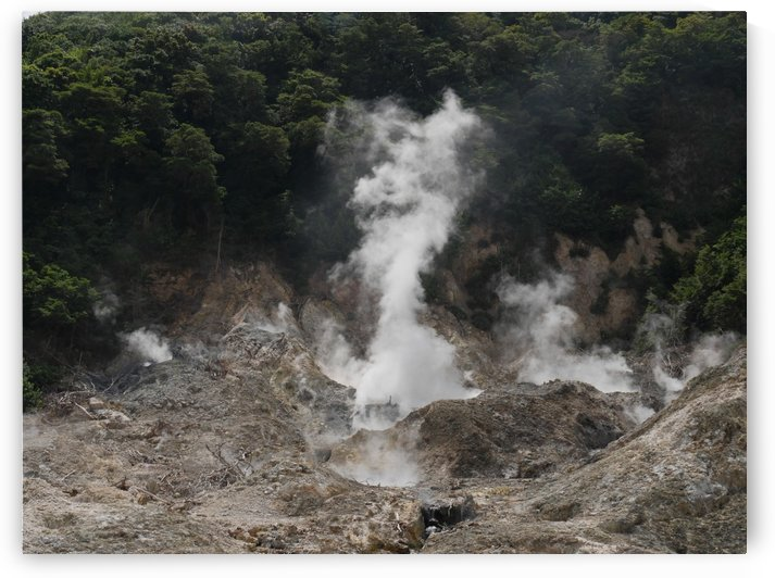 Drive-thru Volcano by On da Raks