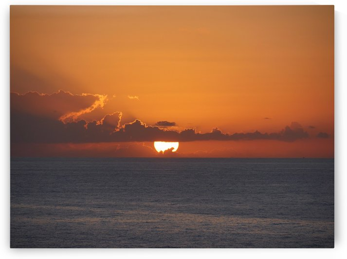 Caribbean Sunset by On da Raks