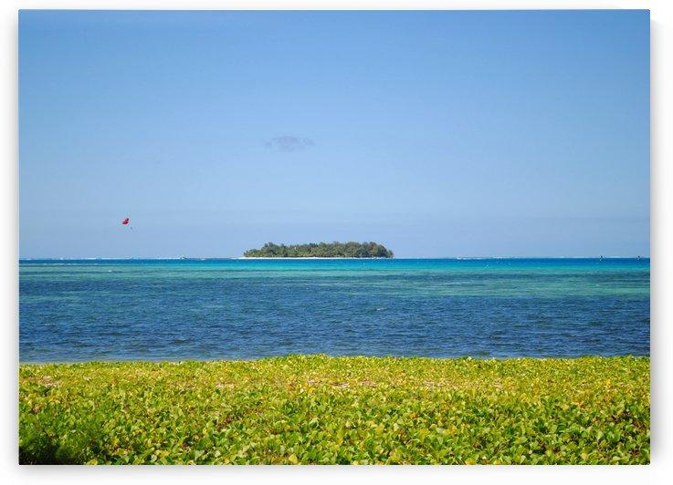 Distant Island Managaha by On da Raks