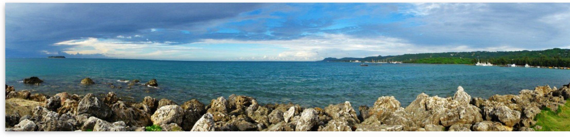 Panoramic view of Smiling Cove Marina Saipan by On da Raks