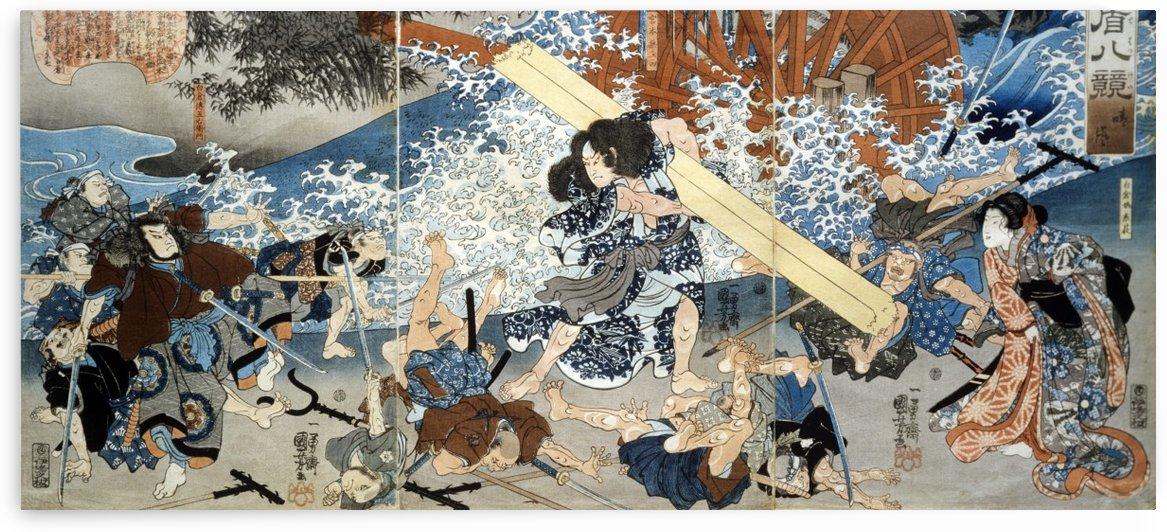 Miyamoto Musashi by Utagawa Kuniyoshi