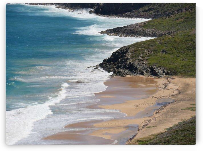 Caribbean Coastal view   by On da Raks