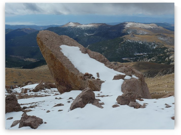 Pikes Peak Colorado  by On da Raks