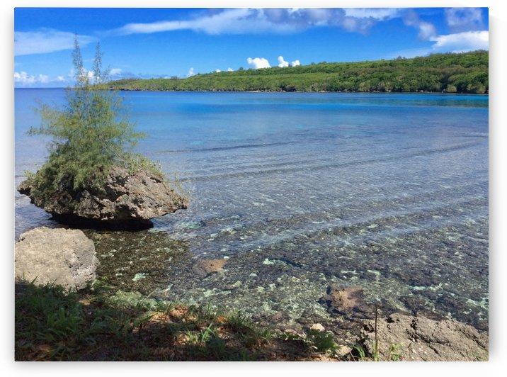 Puntan Diablo or Devil's Point Cove  by On da Raks