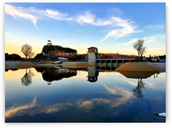 Golden Hour Reflections by The NC Geek