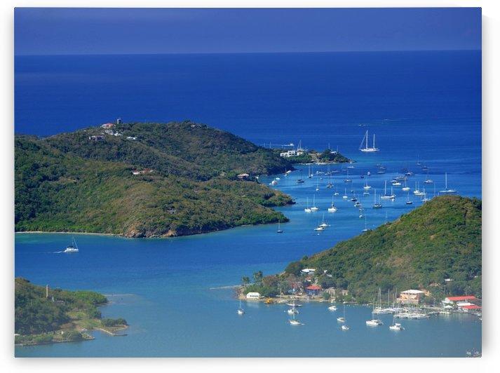 St Thomas Lagoon US Virgin Islands by On da Raks