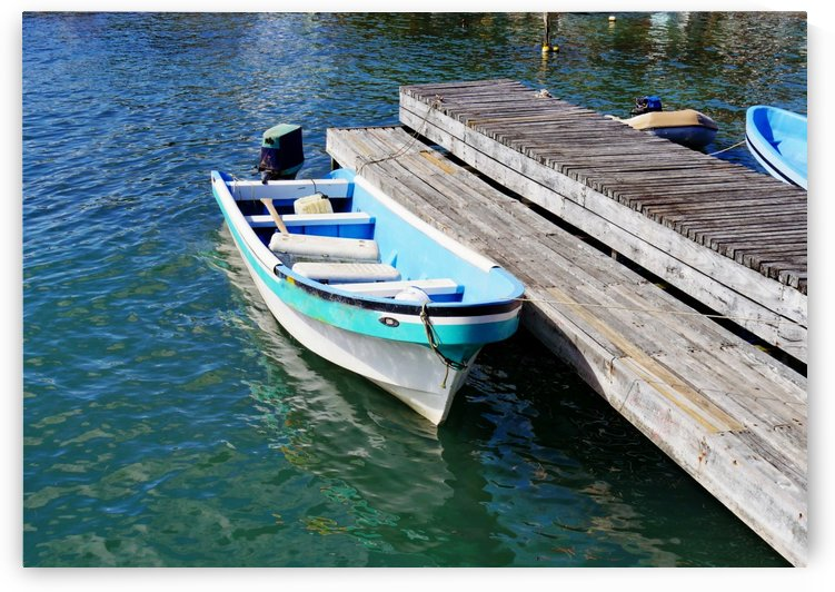 Moored at the Dock by On da Raks