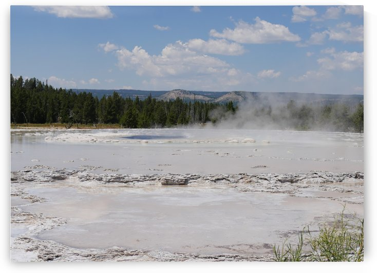 Fountain Paint Pot Yellowstone National Park by On da Raks