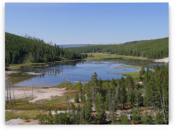 Nymph Lake Yellowstone National Park by On da Raks