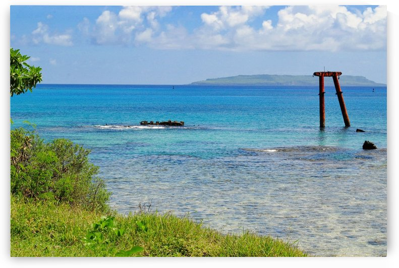 Tinian Coastline CNMI by On da Raks