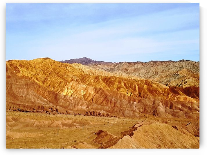 Kerman area   colured mountains 2 by Locspics