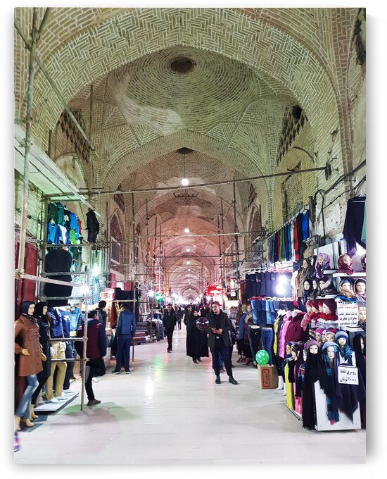 Kerman bazaar e Sartasari by Locspics