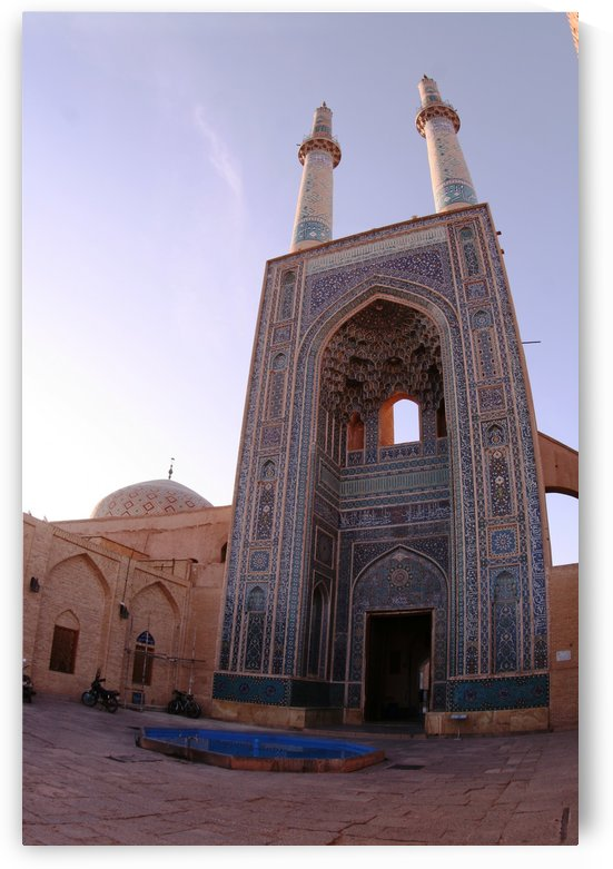 Yazd   Jameh mosque 1 by Locspics