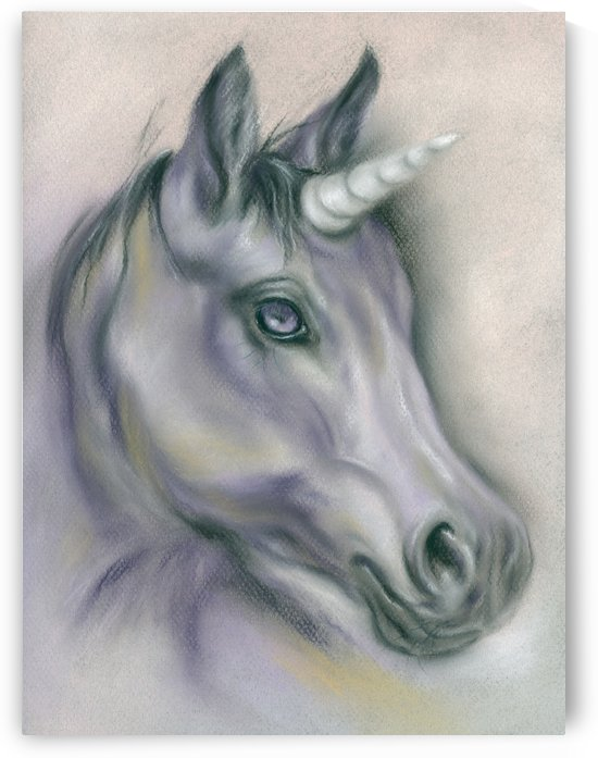 Unicorn Portrait by MM Anderson