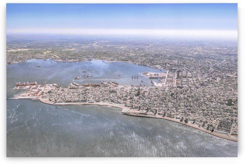 Montevideo City Aerial View Shot by Daniel Ferreia Leites Ciccarino