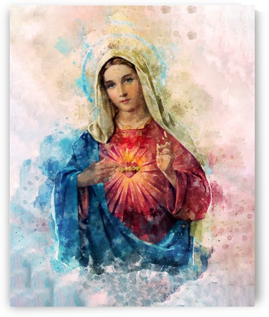 Sacred Heart of Mary by Pavel Mata