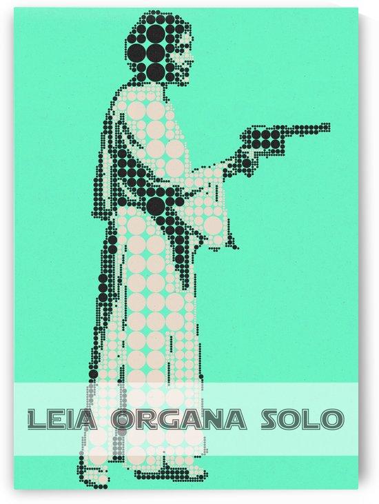 Leia organa Solo by Gunawan Rb