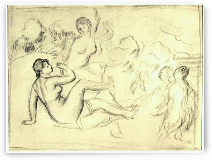 Bather 2 by Renoir by Renoir