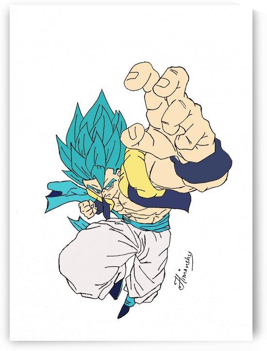 Super Saiyan Blue Gogeta by Hunterr