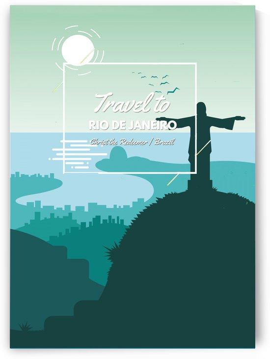 Travel To Rio De Janeiro   Brazil by Gunawan Rb