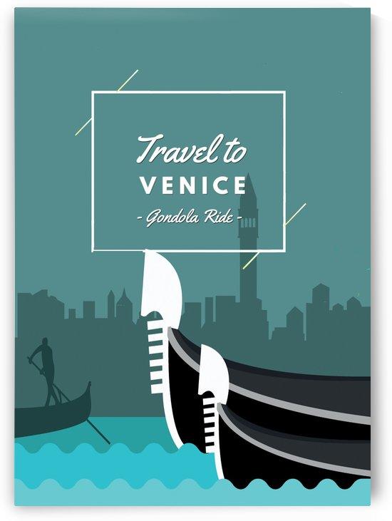 Travel To Venice  Gondola Ride by Gunawan Rb