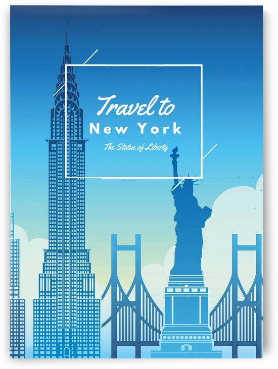 Travel To New York by Gunawan Rb